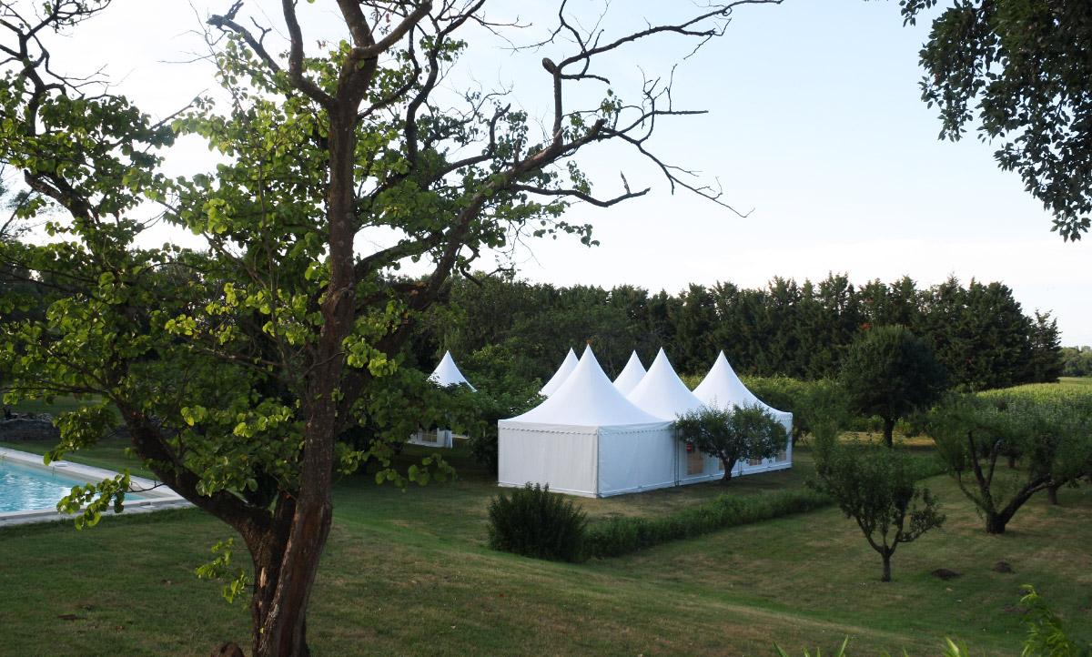 Jardin mariage Gard